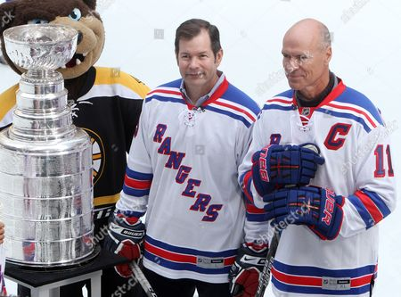 Mike Richter and Mark Messier