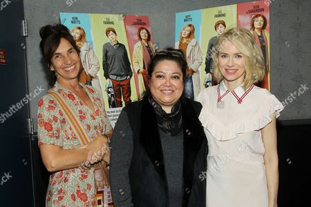 Gaby Dellal (Director), Ingrid Galvez (NewFest, NGLCCNY's Diversity Outreach Chair), Naomi Watts