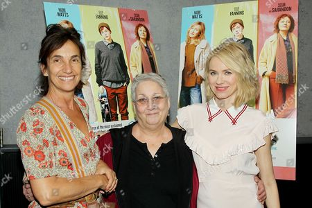 Gaby Dellal (Director), Judy Sennesh (PFLAG NY, Board Chair Founder of TransFamilies Project), Naomi Watts