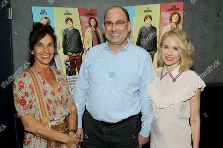 Gaby Dellal (Director), Drew Tagliabue (PFLAG NY, Exec. Director), Naomi Watts