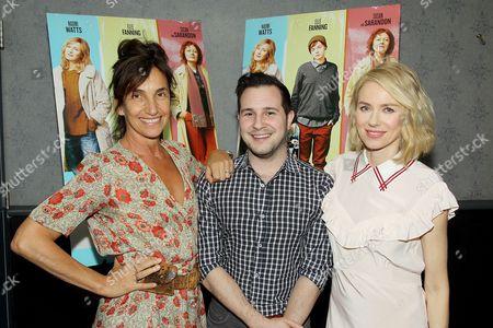 Gaby Dellal (Director), Rich Ferraro (GLAAD), Naomi Watts