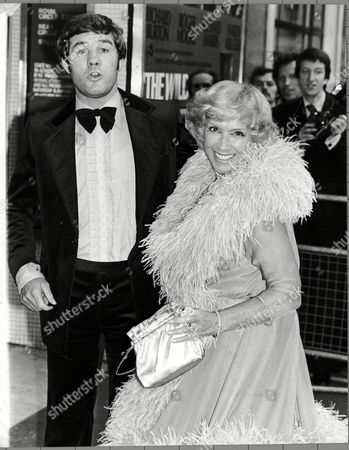 Dorothy Squires Singer With Mark Rowe Former British Middlewieght Champion At Premiere Of Film 'the Wild Geese'