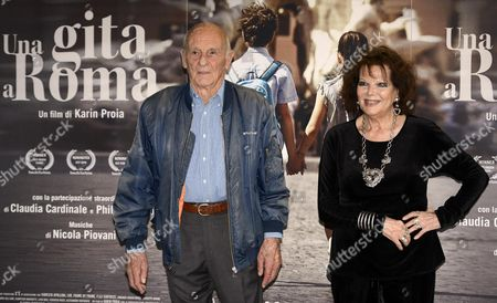 Claudia Cardinale and Philippe Leroy