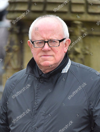 Funeral Of Coronation St. Creator Tony Warren At Manchester Cathedral. - Ken Morley Attends The Service.