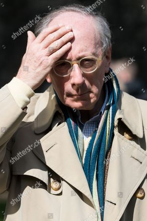 Former Conservative Defence Secretary Sir Malcolm Rifkind is interviewed by the media in Westminister after the British Prime Minister declared a general election for June 8th