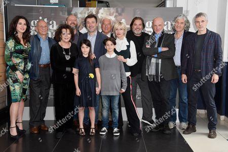Editorial photo of 'Una Gita a Roma' film premiere, Rome, Italy - 18 Apr 2017