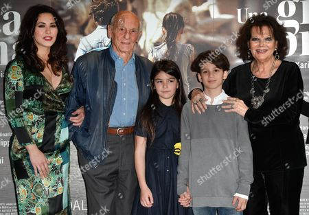 Editorial image of 'Una Gita a Roma' film premiere, Rome, Italy - 18 Apr 2017