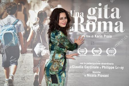 Editorial photo of 'Una Gita a Roma' film premiere, Rome, Italy - 18 Apr 2017