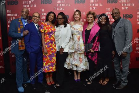 Reg E. Cathey, George C Wolfe, Renee Elise Goldsberry, Oprah Winfrey, Rose Byrne, Leslie Uggams, Kyanna Simone and Courtney B Vance