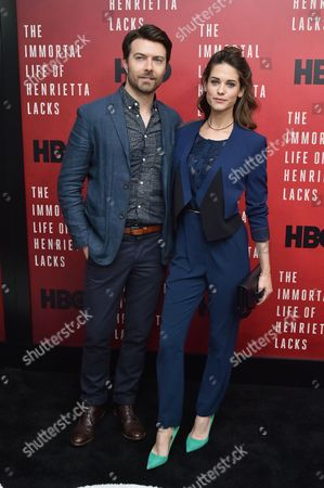 Noah Bean and Lyndsy Fonseca