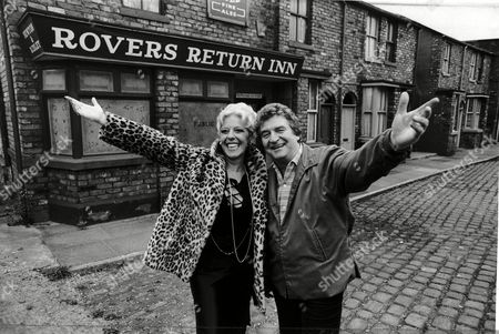 Coronation St. Television Programme With Peter Adamson And Julie Goodyear