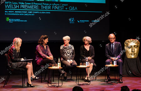 Editorial image of 'Their Finest' film premiere, Panel Discussion, Cardiff, Wales, UK - 18 Apr 2017