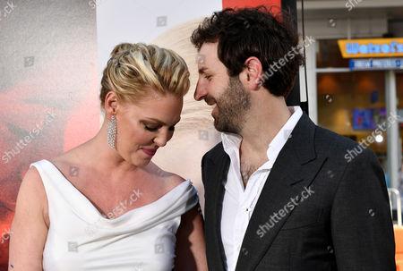 Stock Photo of Katherine Heigl and Josh Kelley