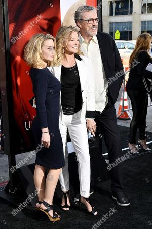 Jordan Ladd, Cheryl Ladd and Brian Russell