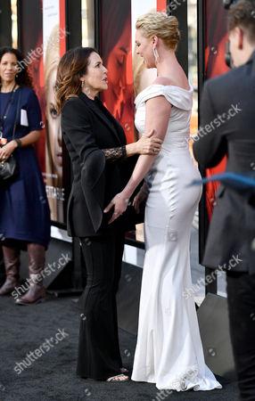 Stock Picture of Denise Di Novi and Katherine Heigl