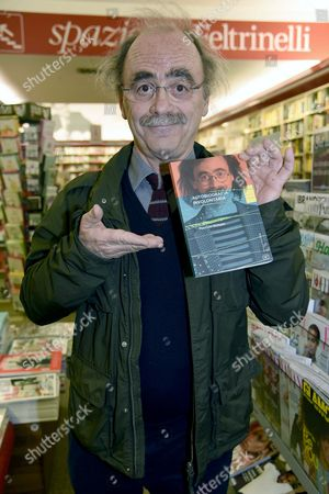 Editorial image of Maurizio Nichetti 'Involuntary Autobiography' book signing, Milan, Italy - 18 Apr 2017