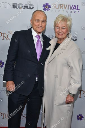Stock Photo of Ray Kelly and Veronica Kelly