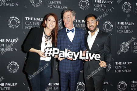 Editorial image of The Paley Center for Media Presents: Bill Nye Saves the World, New York, USA - 18 Apr 2017