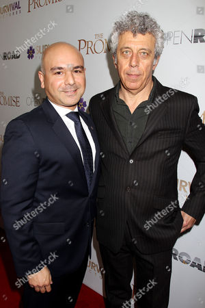 Eric Esrailian and Eric Bogosian