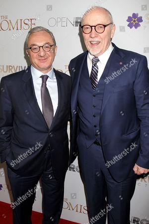 Ambassador Zohrab Mnasalkanyan and Terry George