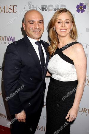 Eric Esrailian and Melina Esrailian