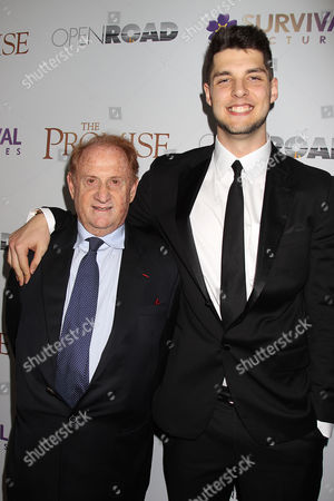 Mike Medavoy with son Nick Medavoy