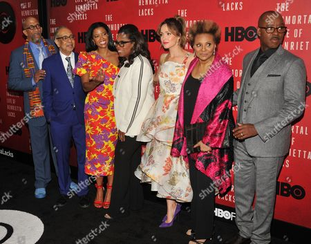 Editorial image of 'The Immortal Life of Henrietta Lacks' film screening, Arrivals, New York, USA - 18 Apr 2017