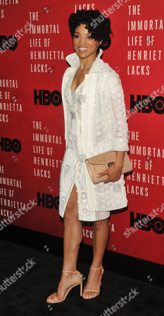 Editorial photo of 'The Immortal Life of Henrietta Lacks' film screening, Arrivals, New York, USA - 18 Apr 2017