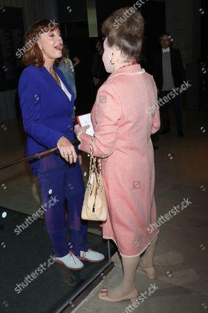 Susan Sarandon and Cindy Adams