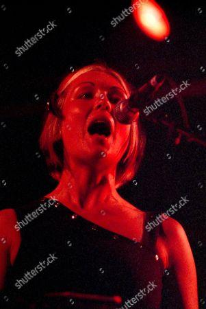 Stock Image of Amanda MacKinnon, Barcelona, Bis, Festival, Manda Rin, Poble Espanyol, Primavera Sound, electro pop, pop punk, post punk, scotish