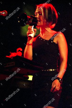 Editorial photo of Bis, Primavera Sound, Poble Espanyol, Barcelona, Spain, 17/05/2002