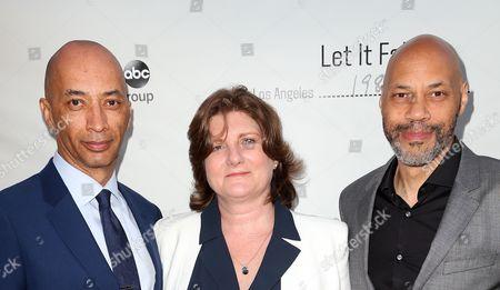Byron Pitts, Jeanmarie Condon, John Ridley