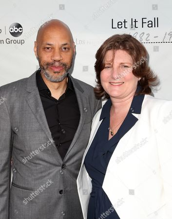 Stock Image of John Ridley and Jeanmarie Condon