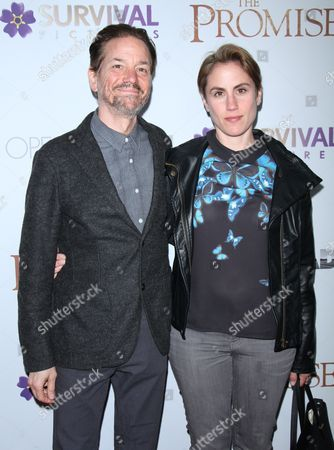 Stock Photo of Frank Whaley and Heather Bucha