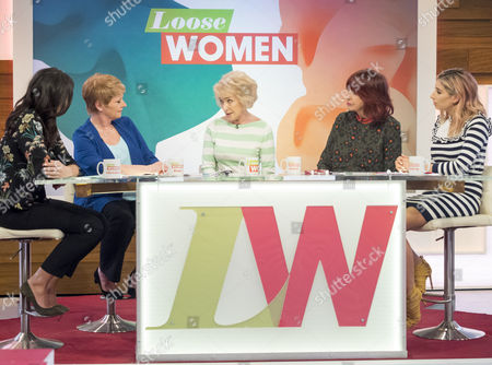 Editorial image of 'Loose Women' TV show, London, UK - 19 Apr 2017