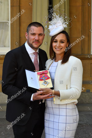 Jessica Ennis Hill and Andy Hill