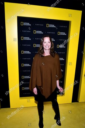 Editorial photo of National Geographic's Further Front, Arrivals, New York, USA - 19 Apr 2017