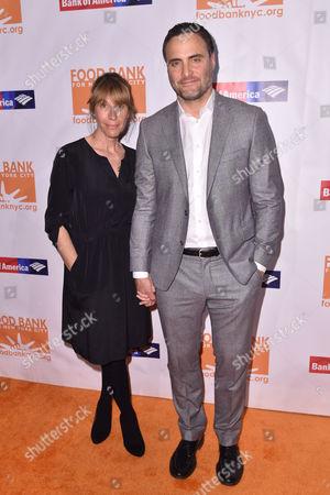 Stock Photo of Dominic Fumusa and Ilana Levine