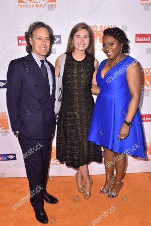 David Lauren, Lauren Bush, and Margarette Purvis