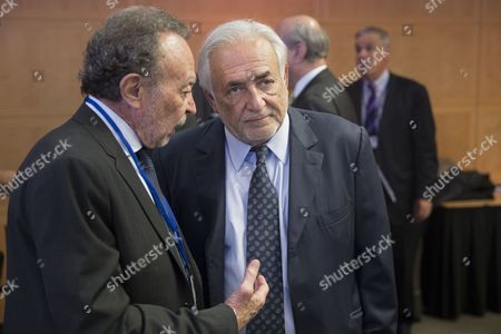 Dominique Strauss-Kahn and Guillermo Ortiz