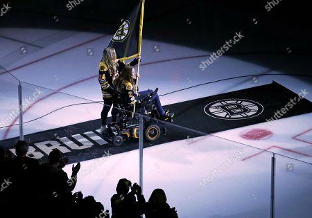 Editorial picture of Senators Bruins Hockey, Boston, USA - 19 Apr 2017