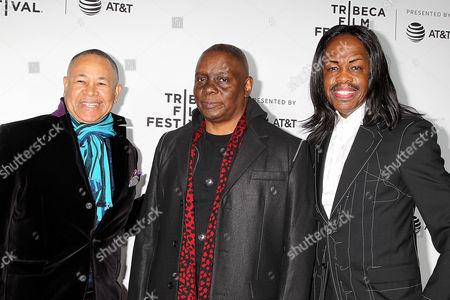 Ralph Johnson, Phillip Bailey and Verdine White
