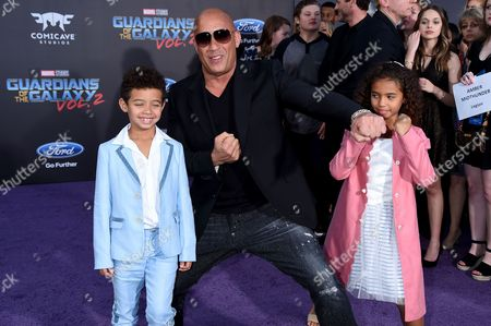 Editorial photo of 'Guardians of the Galaxy Vol. 2' film premiere, Arrivals, Los Angeles, USA - 19 Apr 2017