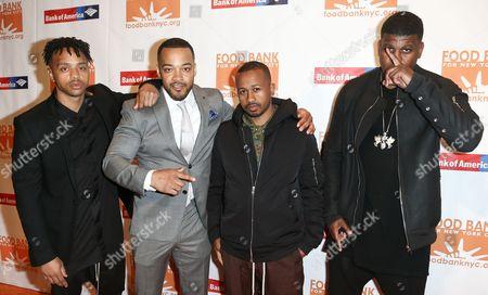 Pierre Serrao, Lester Walker, Malcolm Livingston II, Jon Gray of Ghetto Gastro