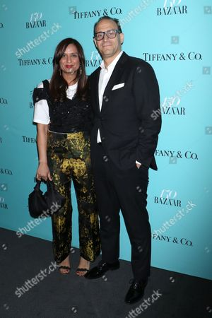Roopal Patel, Fashion Director at Saks Fifth Avenue and Marc Metrick, President of Saks Fifth Avenue