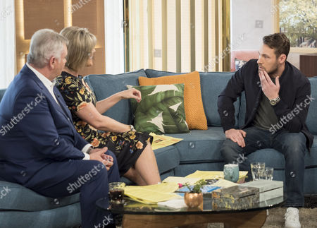 Eamonn Holmes and Ruth Langsford with Marc Baylis