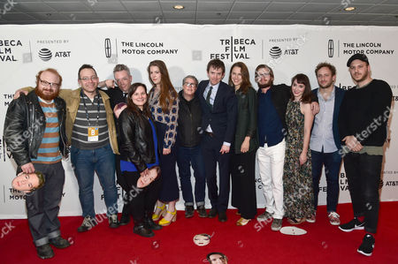 Editorial picture of 'Flames' screening, Arrivals, Tribeca Film Festival, New York, USA - 20 Apr 2017