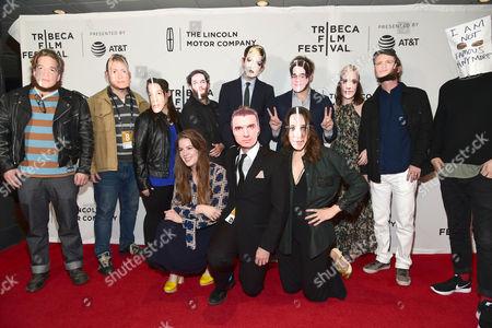 Editorial image of 'Flames' screening, Arrivals, Tribeca Film Festival, New York, USA - 20 Apr 2017