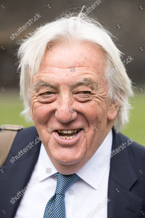Editorial photo of Bob Marshall-Andrews defects from the Labour Party to the Liberal Democrats, London, UK - 20 Apr 2017