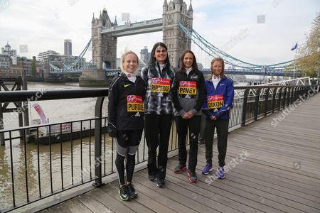 Charlotte Purdue, Susan Partridge, Joanne Pavey and Alyson Dixon (l to r).